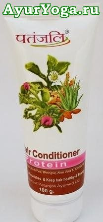 "Патанджали ополаскиватель ""Протеиновый"" (Patanjali Hair Conditioner-Protein)"