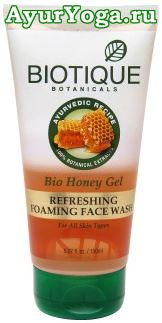 "Медовый гель-пенка ""Био Мёд"" (Biotique Bio Honey Gel Refreshing Foaming Face Wash)"
